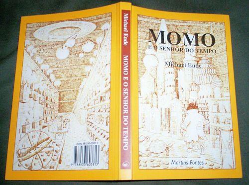 livro - Momo e o senhor do tempo