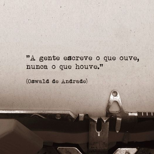 Oswald de Andrade - frases