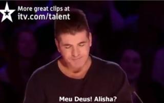 talento absurdo no show de musica