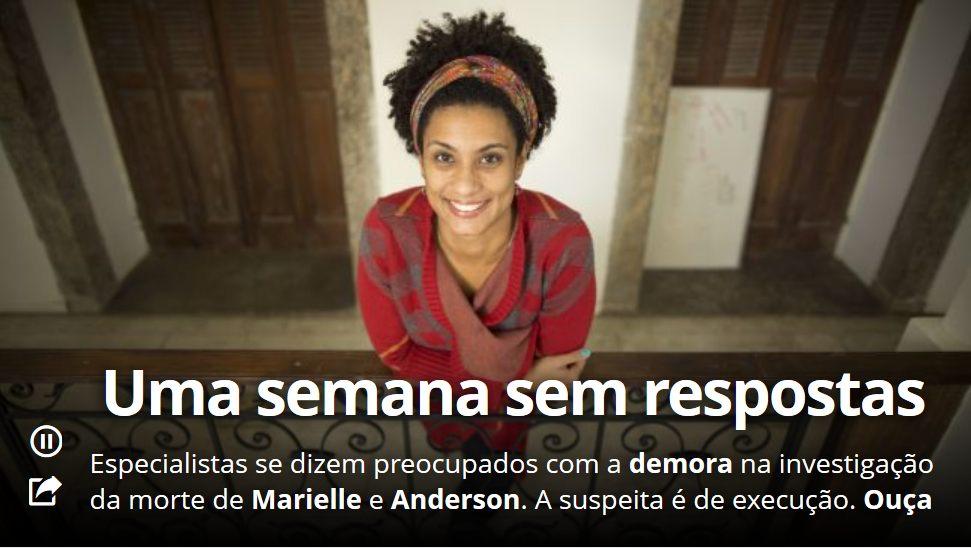 Marielle e Anderson