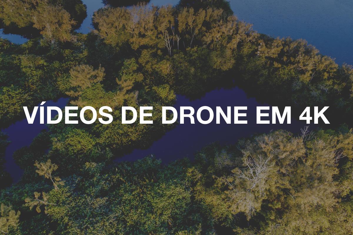 videos de drone 4k